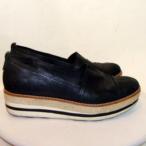 Timberland Shoes - TIMBERLAND WOMENS BLACK LEATHER CASUAL SHOES 10M